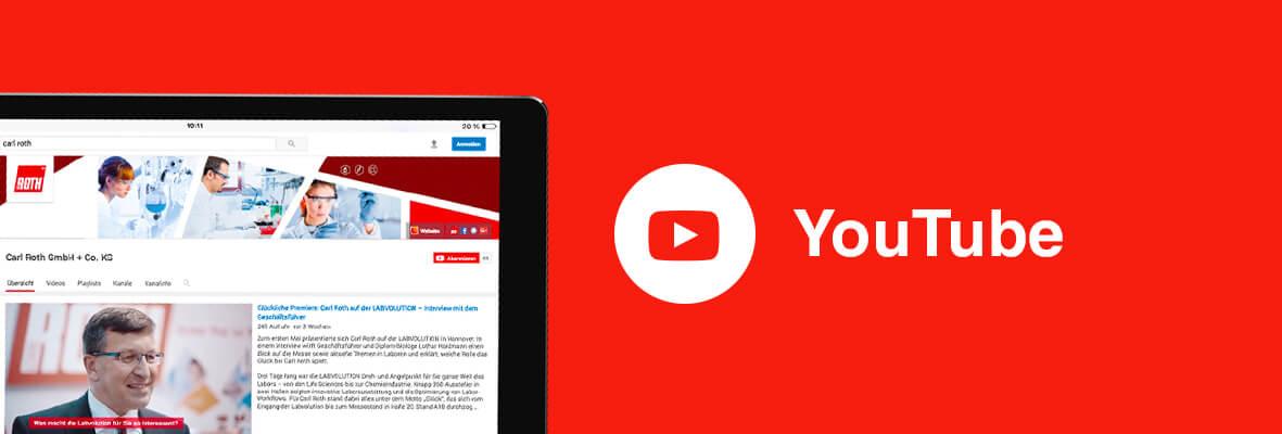 Carl Roth YouTube