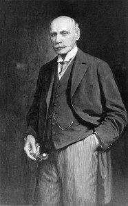 Dr. Ottomar Heinsius von Mayenburg Portrait um 1930