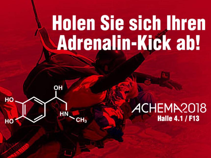 Die Adrenalin-Sieger der ACHEMA 2018