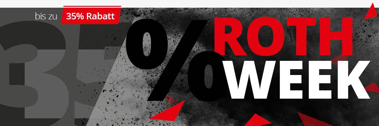 ROTH WEEK Rabatte