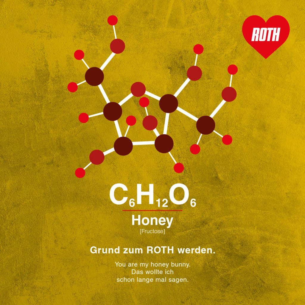 Grußkarte valentinstag-honey