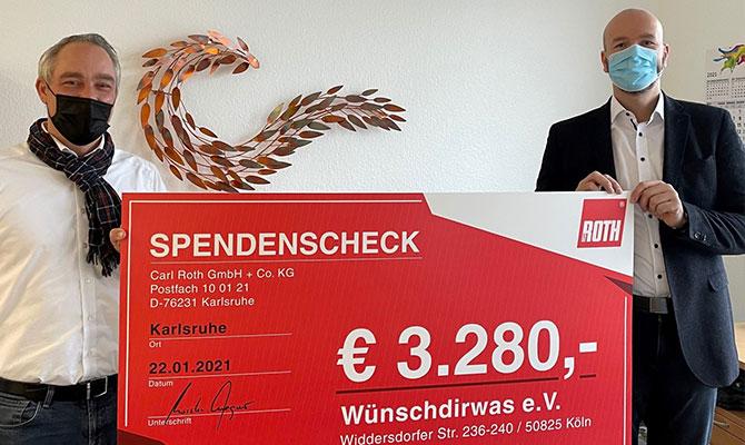 Spende Wuenschdirwas eV